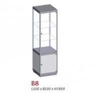 B8, Uni-shop vitrine