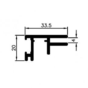 Bannerprofil SF-44-5, LED