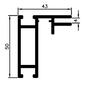 Bannerprofil SF-44-4 LED