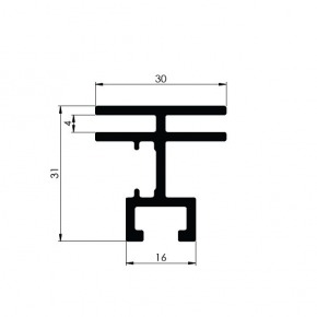 Bannerprofil SF-44-8