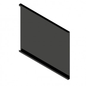 Stålplade, 300x200