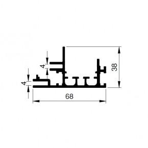 Bannerprofil SF-44-68 LED