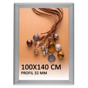 Snapramme 100x140 cm, 32 mm profil