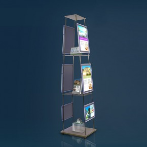 Mobilt display med light pockets