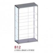 B12, Uni-shop vitrine