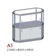 A1, Uni-shop vitrine