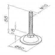 Justeringsfod, D10-M10