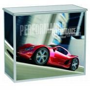 Foldbart messebord  PC-2-H - 1070x515x1050 mm